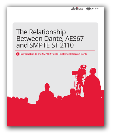 White Paper: The Relationship Between Dante, AES67 and SMPTE ST 2110