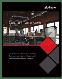 White Paper: Dante and Voice Alarm