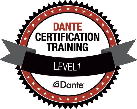 Certified_Dante_Training_Level_1